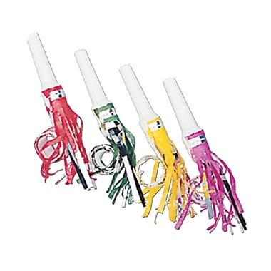 Packaged Fringed Party Blowouts, 16