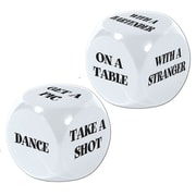 Beistle 21st Birthday Decision Dice Game, 4/Pack