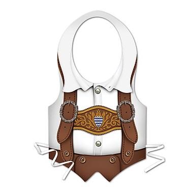 Plastic Oktoberfest Vest, 4/Pack