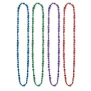 "Beistle Bulk Happy New Year Beads Of Expression Necklace, 36"", Assorted"