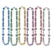 "Beistle Happy New Year Beads Of Expression Necklace, 36"", Assorted"