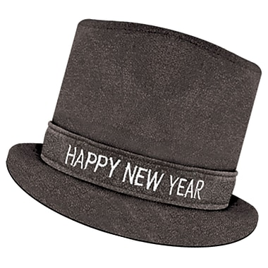 Chapeaux haut-de-forme « Happy New Year » Glitz 'N Sparkle, 3/paquet