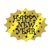 """Beistle 5/Pack 13"""" Happy New Year Cutouts"""