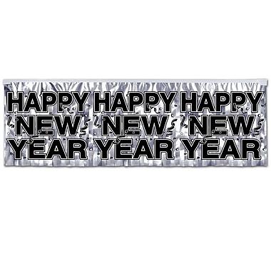 Metallic Happy New Year Fringe Banner, 14