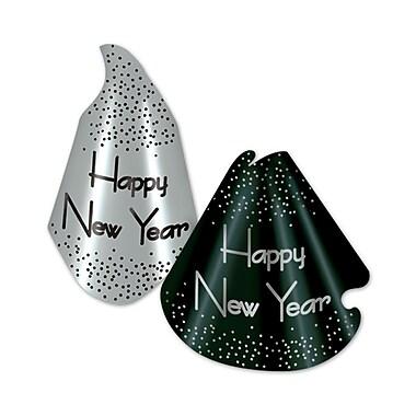 L'assortiment « Sparkling Silver Hat », noir et argenté, 50/paquet
