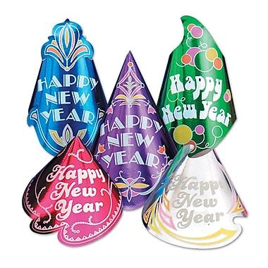 Assortiment de chapeaux « Champagne », couleurs variées, 50/paquet