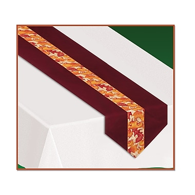 Autumn Leaves Fabric Table Runner, 12