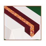 """Autumn Leaves Fabric Table Runner, 12"""" x 6', 2/Pack"""