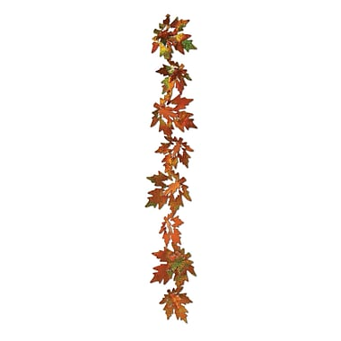 3-Dimensional Prismatic Leaf Gleam 'N Garland, 21
