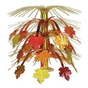 "Beistle 18"" Fall Leaves Cascade Centerpiece, 3/Pack"