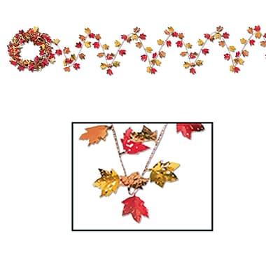 Guirlande de feuilles d'automne Gleam 'N Flex, 25 pi, 4/paquet