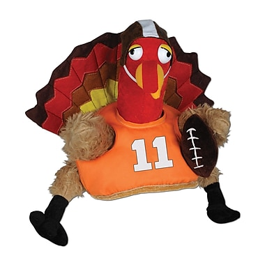 Plush Touchdown Turkey Hat, One Size Fits Most