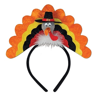 Turkey Headband, One Size Fits Most, 2/Pack