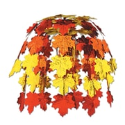 """Beistle 24"""" Fall Leaves Cascade, Multi-Color, 2/Pack"""