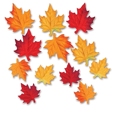Deluxe Fabric Autumn Leaves, 3-1/2