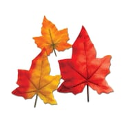 """Beistle 3"""" - 8"""" Autumn Leaves Cutouts, 32/Pack"""