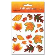 Autocollants feuilles d'automne, 4 3/4 x 7 1/2 po, 28 feuilles/paquet