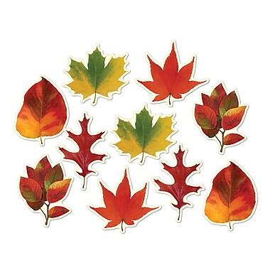 Mini formes découpées de feuilles, 4 à 4 3/4 po, 70/paquet