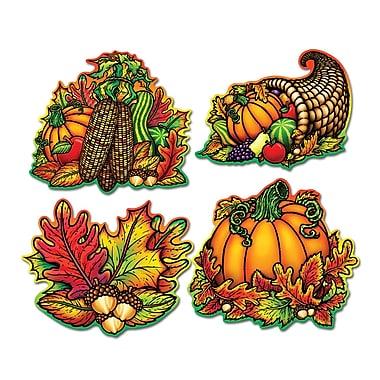 Découpes splendeur d'automne, 16 po, 12/paquet