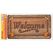 """Autumn Welcome Sign Peel 'N Place, 12"""" x 24"""" Sheet, 3/Pack"""