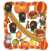 Beistle 24-Piece Flame Resistant Thanksgiving Decorating Kit