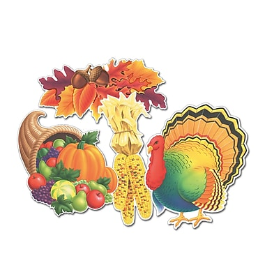 Thanksgiving Cutouts, 14