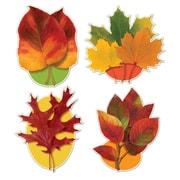 "Autumn Leaf Cutouts, 16"", 12/Pack"