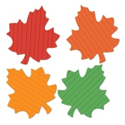 """Beistle 5"""" Tissue Autumn Leaves Cutouts, 144/Pack"""