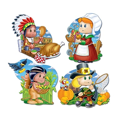 Thanksgiving Kiddie Cutouts, 12