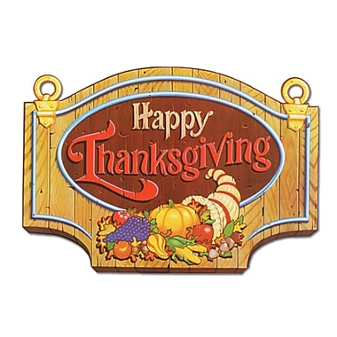 Thanksgiving Sign, 13