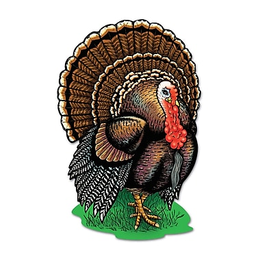 Printed Turkey Cutouts, 17