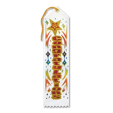 Congratulations Award Ribbon, 2
