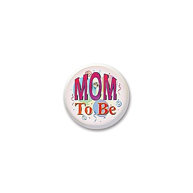 Mom To Be Blinking Button, 2
