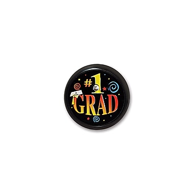 #1 Grad Blinking Button, 2