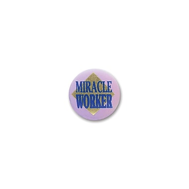 Miracle Worker Satin Button, 2
