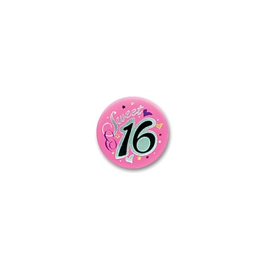 Sweet 16 Satin Button, 2