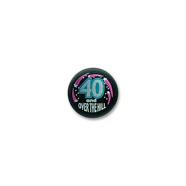 40 & Over-The-Hill Satin Button, 2