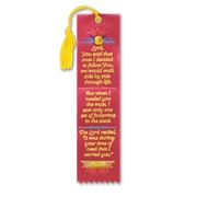 Beistle Footprints In The Sand Jeweled Bookmark, 2 inch x 7 3/4 inch  by