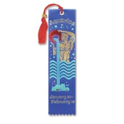 Beistle Aquarius Bookmark, 2 inch x 7 3/4 inch  by