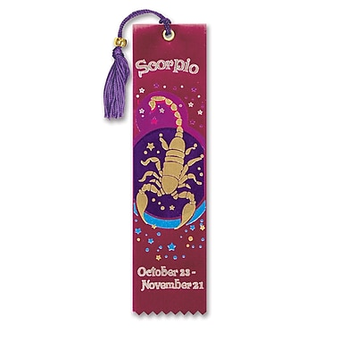 Beistle Scorpio Bookmark, 2