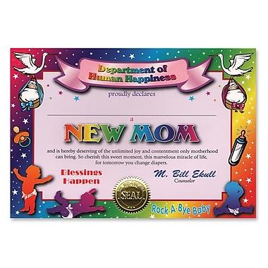 Beistle New Mom Certificate, 5