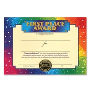 """Beistle First Place Award Certificate, 5"""" x 7"""""""
