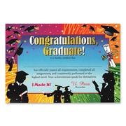 """Beistle Congratulations Graduate Certificate, 5"""" x 7"""""""