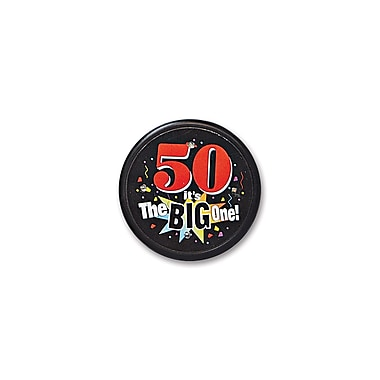50 It's The Big One Flashing Button, 2-1/2