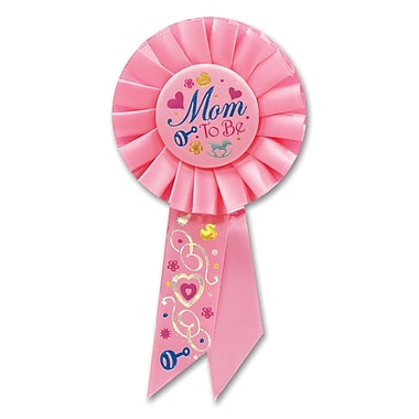Mom To Be Rosette, 3-1/4