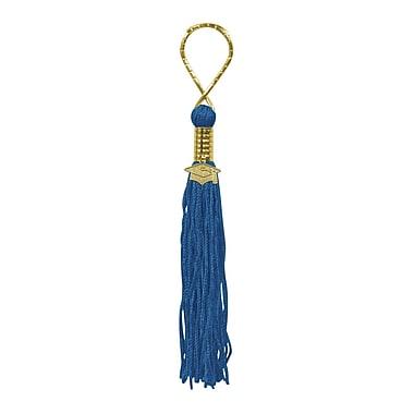 Beistle Blue Tassel Keychain
