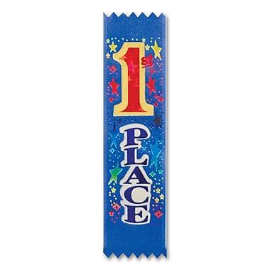 Lot de rubans de récompense « 1st Place », 1 1/2 x 6 1/4 po, paquet de 20