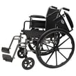 ProBasics Adjustable Arm Height 16'' Lightweight Wheelchair; Leg Rest