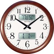 Rhythm 16'' Estado Wall Clock