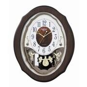 Rhythm Precious Angels Melody Wall Clock